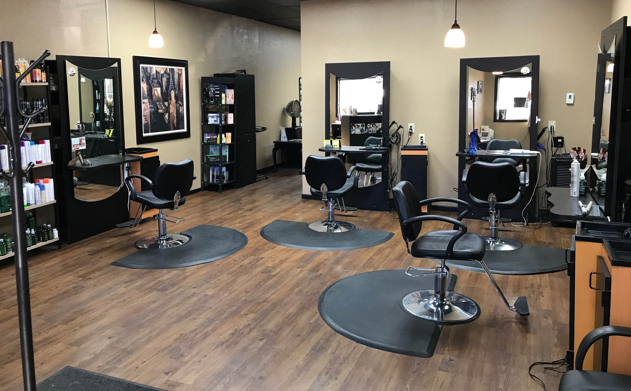 Cutting edge salon for A cutting edge salon
