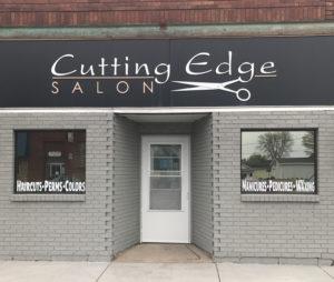 Cutting Edge Salon storefront Foley MN