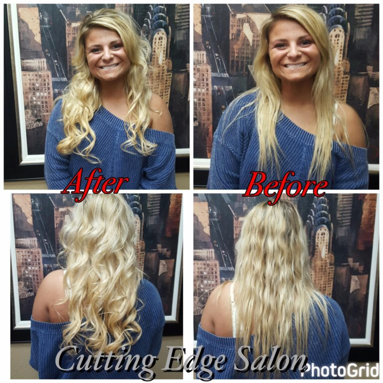 Cutting Edge Salon Foley MN hair style before and after