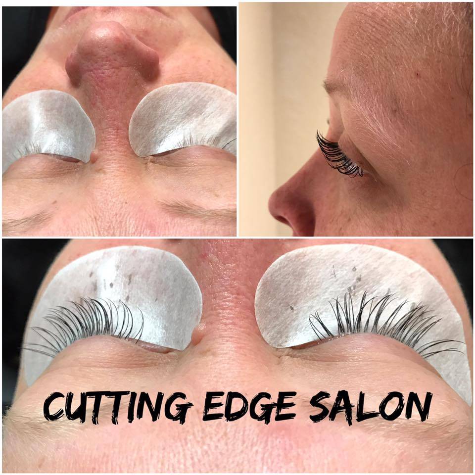 Cutting Edge Salon Foley MN eyelash extensions