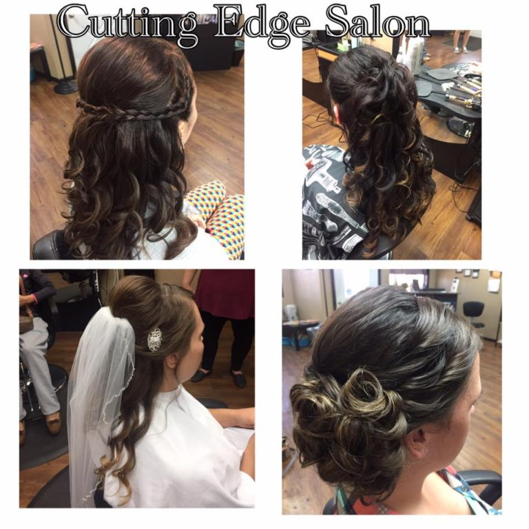 Cutting Edge Salon Foley MN Wedding